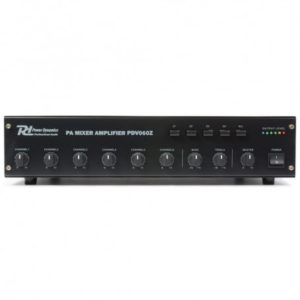 amplificador linea 100v power dynamics